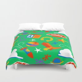 A Friend in Me Duvet Cover