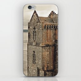 Mont St. Michel - Square Tower - Brittany France iPhone Skin