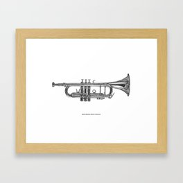 When words aren't enough Framed Art Print
