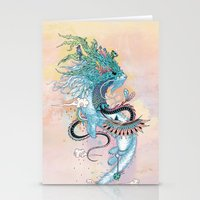 spirit Stationery Cards featuring Journeying Spirit (ermine) by Mat Miller