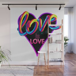 Love is Love Wall Mural