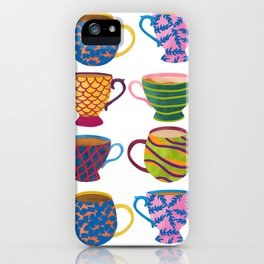 Comfort In A Cup iPhone Case