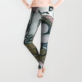 Will you be my valentine? Leggings