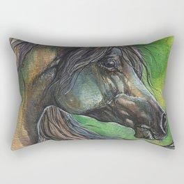 Rainbow horse Rectangular Pillow