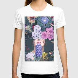 Flower woman T-shirt