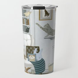 Baby Animal Nursery Travel Mug