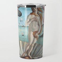 BIRTH OF VENUS - BOTTICELLI Travel Mug