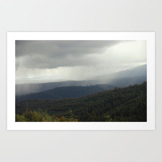 Alpine Ranges ~ Australia Art Print