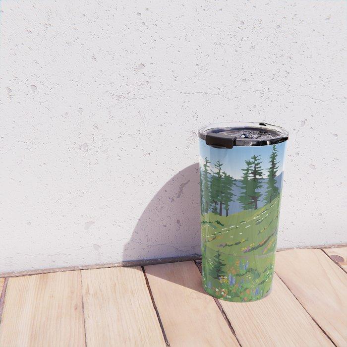 Silver Star Mountain Travel Mug