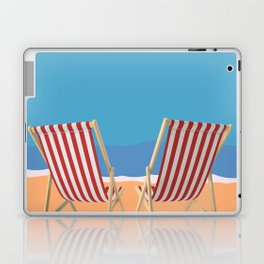 Florida Vintage Travel Poster Laptop & iPad Skin