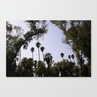 casablanca Canvas Prints featuring casablanca by Aziza Nassih