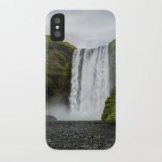 Skogafoss Waterfall Iceland iPhone X Slim Case