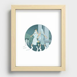 Dance at midnight Recessed Framed Print