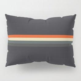 Fujitaka - Classic Dark Retro Stripes Pillow Sham