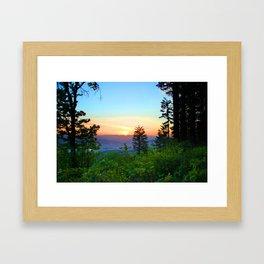 Bald Peak Framed Art Print