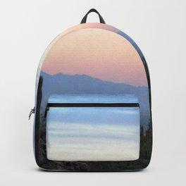 Watercolor Sunset, Ventana Canyon 02, Arizona Backpack