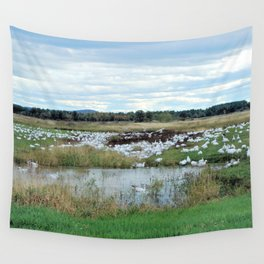 1001 Snow Geese Wall Tapestry