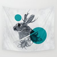 jackalope Wall Tapestries featuring chapter one by Peg Essert