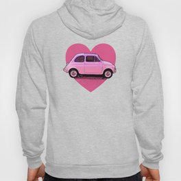 The Pink 500 Car Lover Hoody