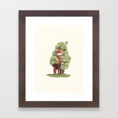 3… 2… 1… Framed Art Print