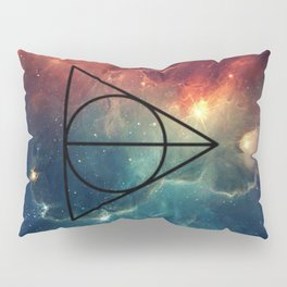Deathly Hallows Cosmos HP Pillow Sham
