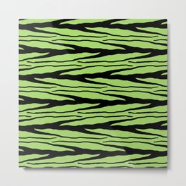 A New Wild - Green Metal Print