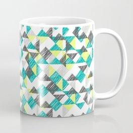 scribble triangles Coffee Mug
