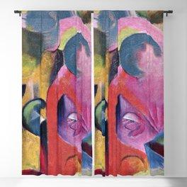 Franz Marc - Komposition III Blackout Curtain
