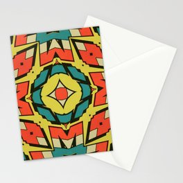 Cap Primary Pattern Stationery Cards