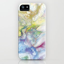 All Mixed Up by Julia Duerler iPhone Case