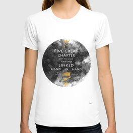 Charter Poem T-shirt