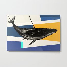 Message from the Whale Metal Print