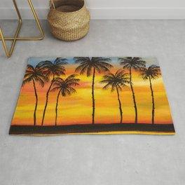 Hawaiian Sunset Rug