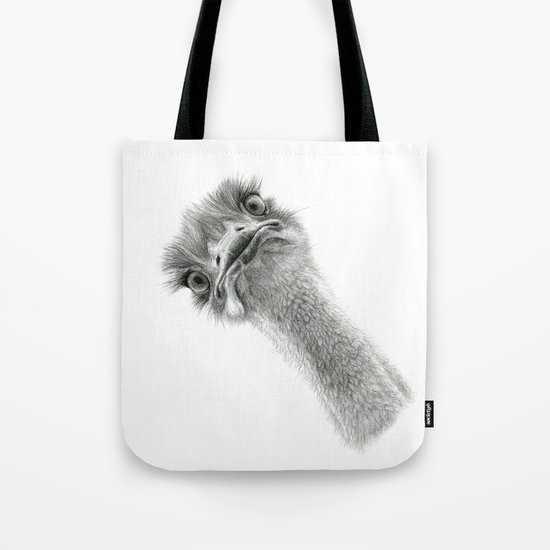 Cute Ostrich SK053 Tote Bag