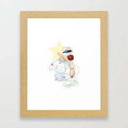 Toffee Apple Framed Art Print