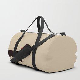 Daschund Dog Silhouette Art Duffle Bag