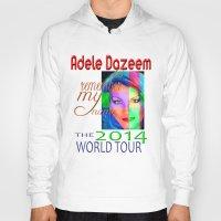 concert Hoodies featuring Adele Dazeem Concert Tee by Danadu