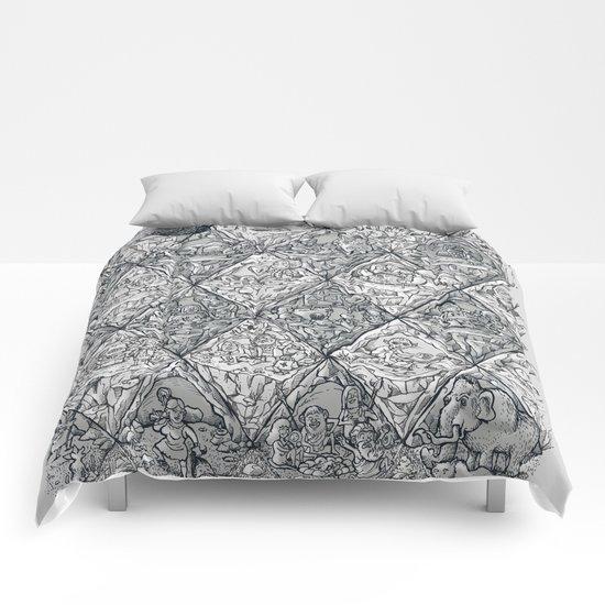 argyle stone age Comforters