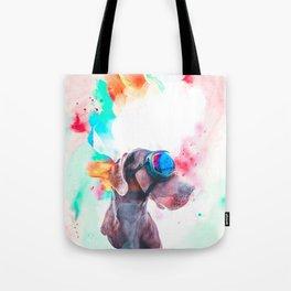 Great Dane Illustration Tote Bag