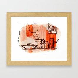 Meals Framed Art Print