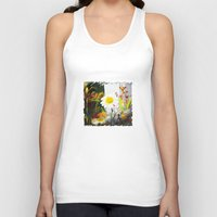 daisies Tank Tops featuring daisies by bsvc