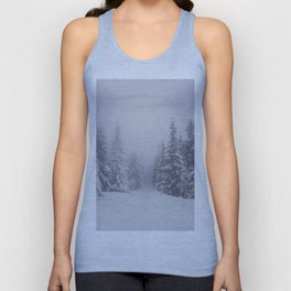 Winter walk - Landscape and Nature Photography Unisex Tank Top