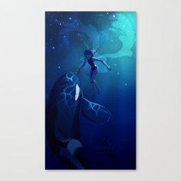 Lapis Ocean Canvas Print