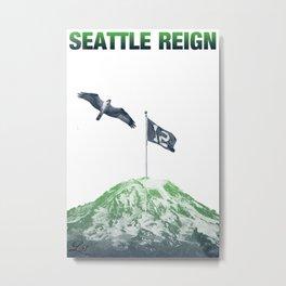 SEATTLE REIGN Metal Print