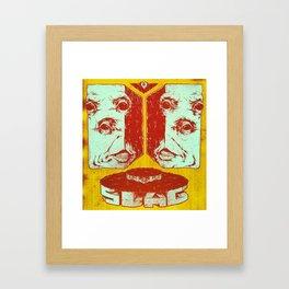 Slag Box 2 Framed Art Print