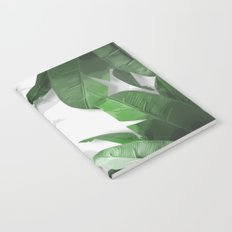 Tropical Palm Print Shadows Notebook