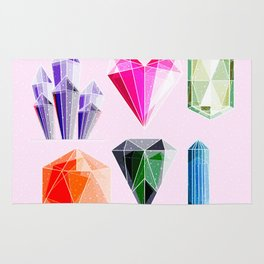 Crystal and Gemstones Vol 2 Rug
