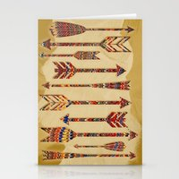 arrows Stationery Cards featuring arrows by Emmy Winstead