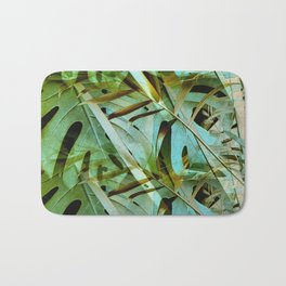 Monstera & Palm Bath Mat
