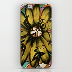Let The Sunshine In (Sunflower) iPhone & iPod Skin